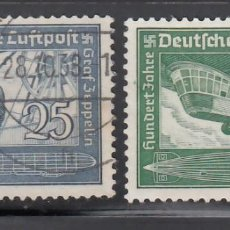 Sellos: ALEMANIA IMPERIO, AÉREOS, 1938 YVERT Nº 57 / 58. Lote 236636055