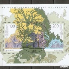 Timbres: ALEMANIA FEDERAL. 1997. HB. MI 38. Lote 236748110