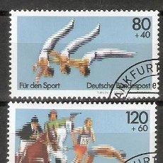 Francobolli: ALEMANIA FEDEAL.1983. MI 1172,1173. DEPORTES. Lote 236914525