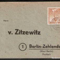 Sellos: ALEMANIA BERLIN. 1952. MI 88. Lote 237324535