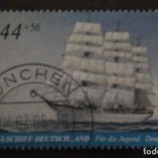 Sellos: ALEMANIA 2005. YOUTH: TALL SHIPS. YT:DE 2293,. Lote 237324815