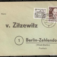 Sellos: ALEMANIA BERLIN. 1952. MI 42,93. Lote 237330320