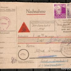 Sellos: ALEMANIA . OCUPACIÓN SOVIÉTICA.1949. MI 213,223. Lote 237331575