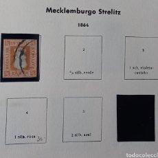 Sellos: SELLO DE MECKLEMBURGO-STRELITZ (ALEMANIA). Lote 238145785