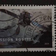 Sellos: ALEMANIA 2019. EUROPEAN SPACE AGENCY MISSION ROSETTA. MI:DE 3476. Lote 249408545