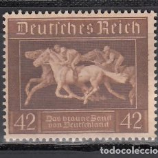 Timbres: ALEMANIA IMPERIO, 1936 YVERT Nº 579 (*). Lote 239512020