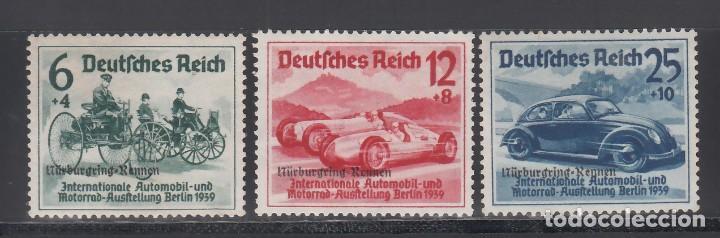 ALEMANIA IMPERIO, 1939 YVERT Nº 629A / 629C /**/, SIN FIJASELLOS (Sellos - Extranjero - Europa - Alemania)