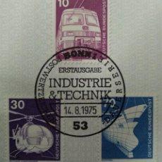 Sellos: ALEMANIA 1975. SERIE INDUSTRY AND TECHNOLOGY DEFINITIVES 1975-1982 YT:DE 696,YT:DE 698,YT:DE 701,. Lote 239912480