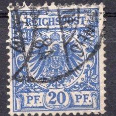 Sellos: ALEMANIA IMPERIO , 1899, STAMP MICHEL 48A. Lote 289892773