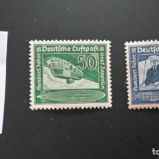 Sellos: 1938 TERCER REICH MI 669 670 NUEVOS, CON MARCA FIJASELLOS. Lote 241747930