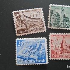 Sellos: 1940 MI 739-742 NUEVOS GOMA INTACTA ALEMANIA TERCER REICH. Lote 241749195