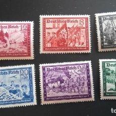 Sellos: 1941 MI 773-778 NUEVOS MARCA FIJASELLOS ALEMANIA TERCER REICH. Lote 241749475