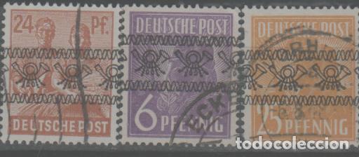LOTE Q- SELLOS ALEMANIA BIZONA (Sellos - Extranjero - Europa - Alemania)