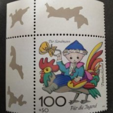 Sellos: ALEMANIA 1998. ***MNH YOUTH: CHILDREN'S CARTOONS. Lote 242998855