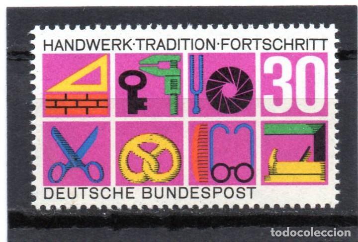 ALEMANIA / GERMANY / SELLO AÑO 1968 YVERT NR. 418 NUEVO (Sellos - Extranjero - Europa - Alemania)