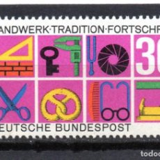 Sellos: ALEMANIA / GERMANY / SELLO AÑO 1968 YVERT NR. 418 NUEVO. Lote 243650995
