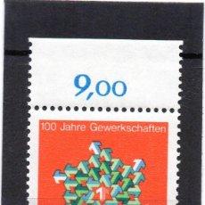 Sellos: ALEMANIA / GERMANY / SELLO AÑO 1968 YVERT NR. 413 NUEVO. Lote 243651675
