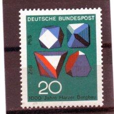 Sellos: ALEMANIA / GERMANY / SELLO AÑO 1968 YVERT NR. 412 NUEVO. Lote 243652670