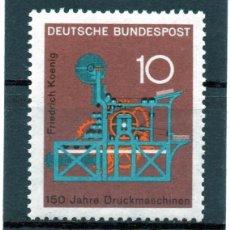 Sellos: ALEMANIA / GERMANY / SELLO AÑO 1968 YVERT NR. 411 NUEVO. Lote 243653075
