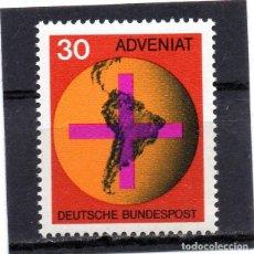Sellos: ALEMANIA / GERMANY / SELLO AÑO 1968 YVERT NR. 410 NUEVO. Lote 243653475
