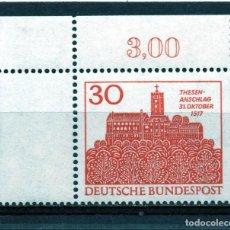 Sellos: ALEMANIA / GERMANY / SELLO AÑO 1968 YVERT NR. 409 NUEVO. Lote 243653855