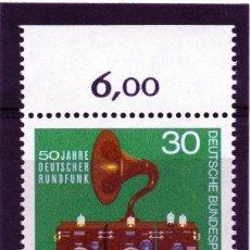 Sellos: ALEMANIA / GERMANY / SELLO AÑO 1973 YVERT NR. 635 NUEVO. Lote 243656030