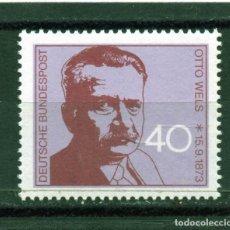 Sellos: ALEMANIA / GERMANY / SELLO AÑO 1973 YVERT NR. 630 NUEVO. Lote 243656390