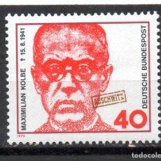 Sellos: ALEMANIA / GERMANY / SELLO AÑO 1973 YVERT NR. 621 NUEVO. Lote 243657125