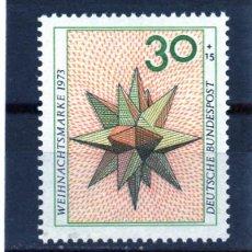 Sellos: ALEMANIA / GERMANY / SELLO AÑO 1973 YVERT NR. 639 NUEVO. Lote 243657680