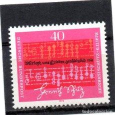 Sellos: ALEMANIA / GERMANY / SELLO AÑO 1972 YVERT NR. 591 NUEVO. Lote 243658020