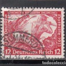 Sellos: ALEMANIA IMPERIO, 1933 YVERT Nº 475. Lote 243671320