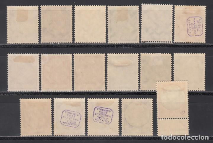 Sellos: ALEMANIA IMPERIO, 1933-36 YVERT Nº 483 / 498 /*/ - Foto 2 - 243815905