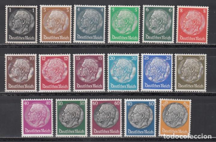 ALEMANIA IMPERIO 1933-36 YVERT Nº 483 / 498 /*/ (Sellos - Extranjero - Europa - Alemania)