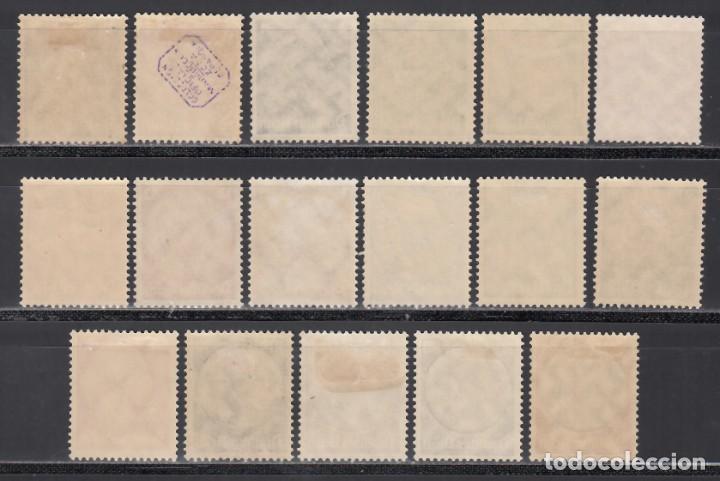 Sellos: ALEMANIA IMPERIO 1933-36 YVERT Nº 483 / 498 /*/ - Foto 2 - 243818985
