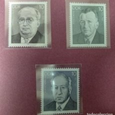 Sellos: ALEMANIA DDR 1984.***MNH. PERSONALITIES OF THE GERMAN LABOR MOVEMENT.. Lote 243925890