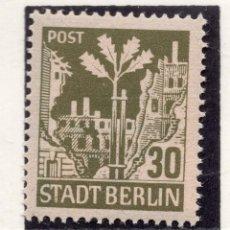 Sellos: ALEMANIA OCUPACION ALIADA BERLIN , 1945 , MICHEL 7B, MNH. Lote 289882103