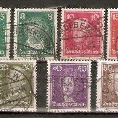 Sellos: ALEMANIA IMPERIO.1926-27. YT 379/389. Lote 244495705