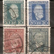 Sellos: ALEMANIA IMPERIO.1924. YT 359/362. Lote 244496605