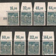 Timbres: ALEMANIA IMPERIO. 1921. MI 170 P OR. Lote 244505110