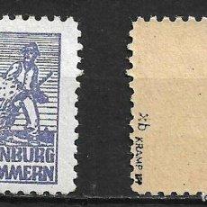 Sellos: ALIADOS OCUPACIÓN 1946 IM. Nº 33 XB BPP ** - 4/1. Lote 244634180