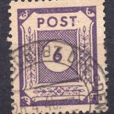 Sellos: ALEMANIA OCUPACIO SOVIETICA 1945, MICHEL 58A USED. Lote 244908885