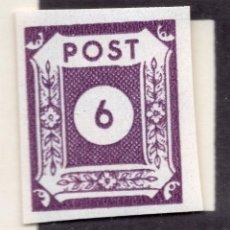 Sellos: ALEMANIA OCUPACIO SOVIETICA 1946, MICHEL 62AU. Lote 244909375