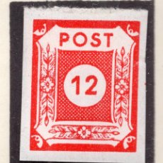 Sellos: ALEMANIA OCUPACIO SOVIETICA 1946, MICHEL 63V. Lote 244909450