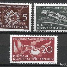 Sellos: DDR 1957 MICHEL 561/563 ** MNH - 4/5. Lote 244946445