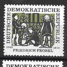 Sellos: DDR 1957 MICHEL 564/565 ** MNH - 4/5. Lote 244946485