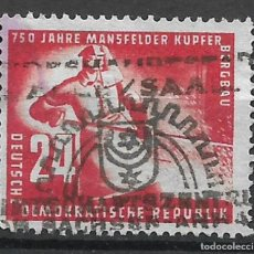 Sellos: DDR 1950 MICHEL 274 USADO - 4/5. Lote 244946565