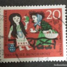 Sellos: ALEMANIA 1962. YT:DE 259,. Lote 244950330