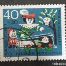 Sellos: ALEMANIA 1962. YT:DE 260,. Lote 244950470