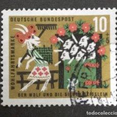 Sellos: ALEMANIA 1963. YT:DE 280,. Lote 244952000
