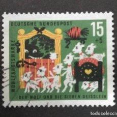 Sellos: ALEMANIA 1963. YT:DE 281,. Lote 244952115